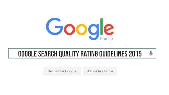 évaluation de la qualité des recherches